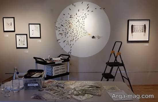 ایده هایی خلاقانه از تزیین منزل با کاردستی با پر