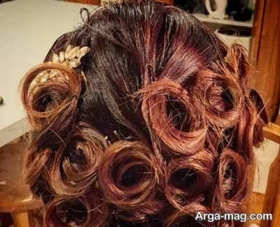 فر کردن مو با سنجاق سر