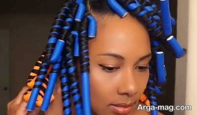فر کردن مو با روش های آسان