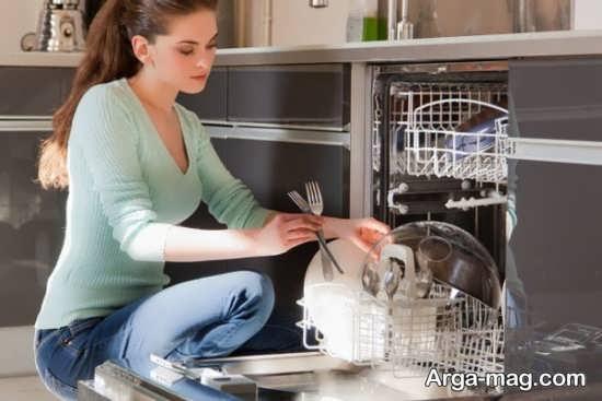 طریقه تمیز کردن و جرم گیری ماشین ظرفشویی