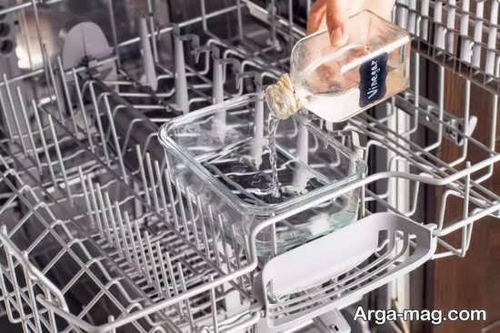 طریقه درست تمیزکاری ماشین ظرفشویی