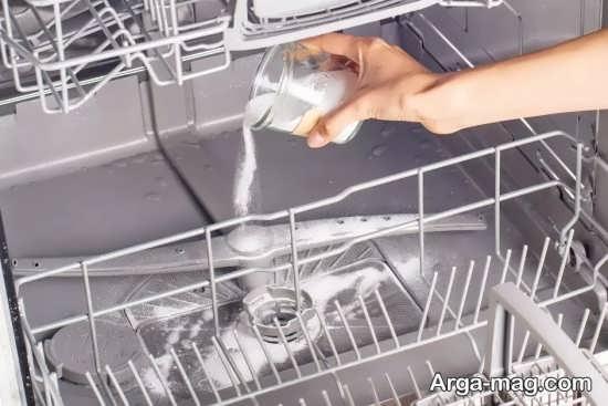 مواد مناسب جرم گیری دستگاه ظرفشویی