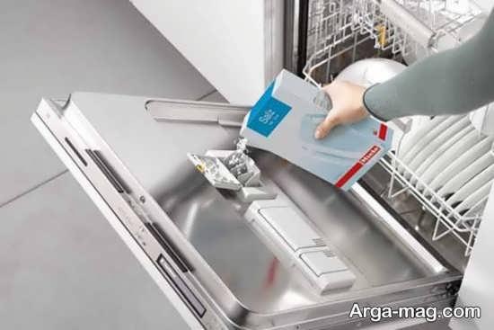 طریقه تمیز کردن ماشین ظرفشویی