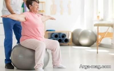 ورزش برای بیماران ام اس