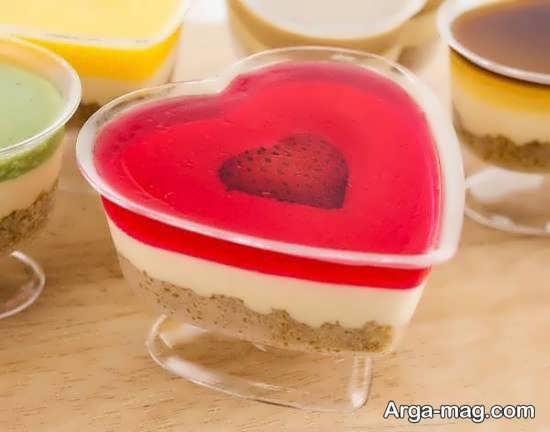 زیباسازی ژله با توت فرنگی برای تمامی سلیقه ها