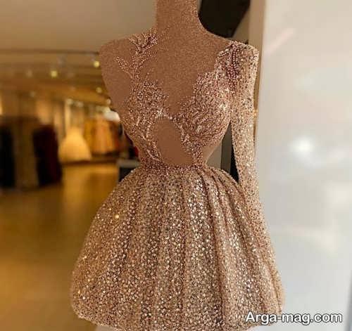 مدل لباس مجلسی کوتاه دخترانه 2022