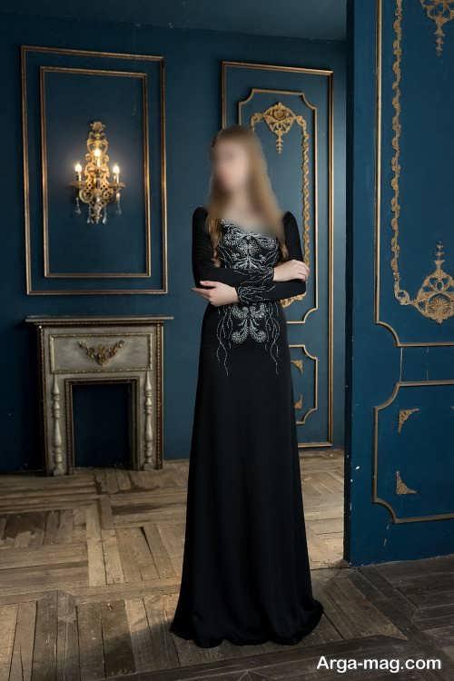 مدل لباس مجلسی مشکی 2022