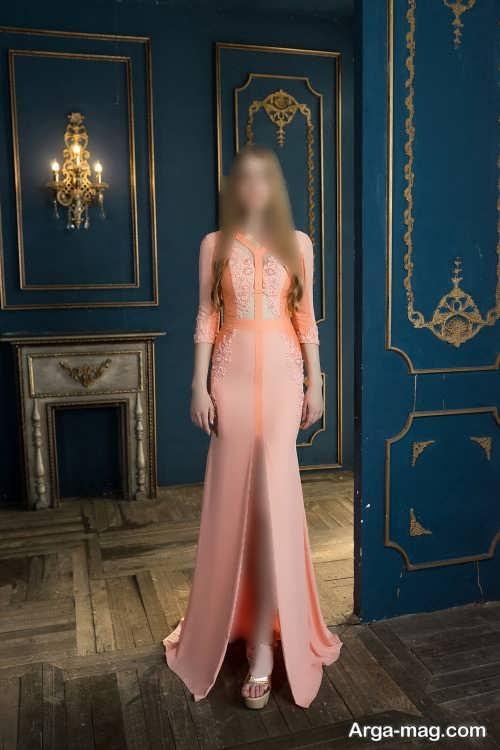 مدل لباس مجلسی آستین دار دخترانه 2022