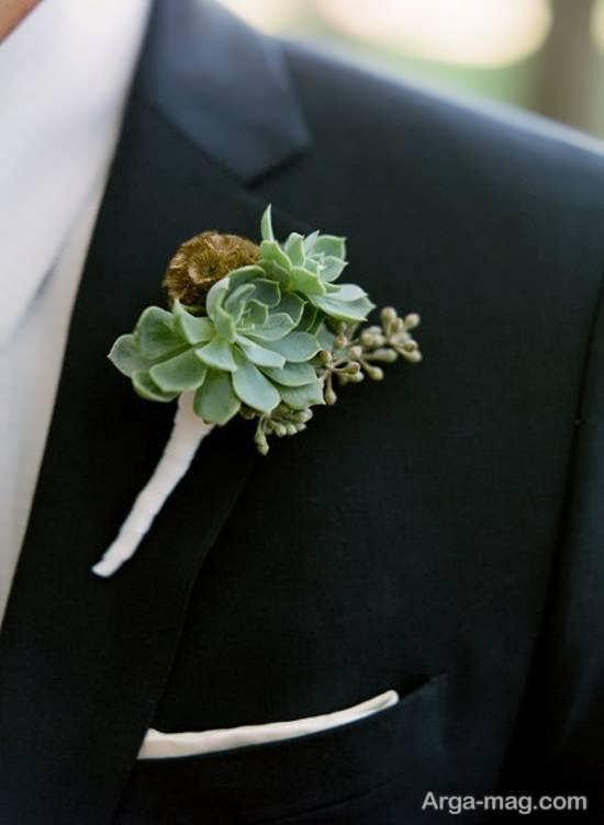انواع مدلهای گل سینه داماد