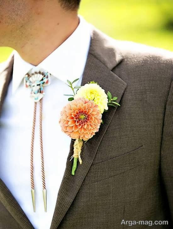 الگوهای لاکچری از گل سینه داماد