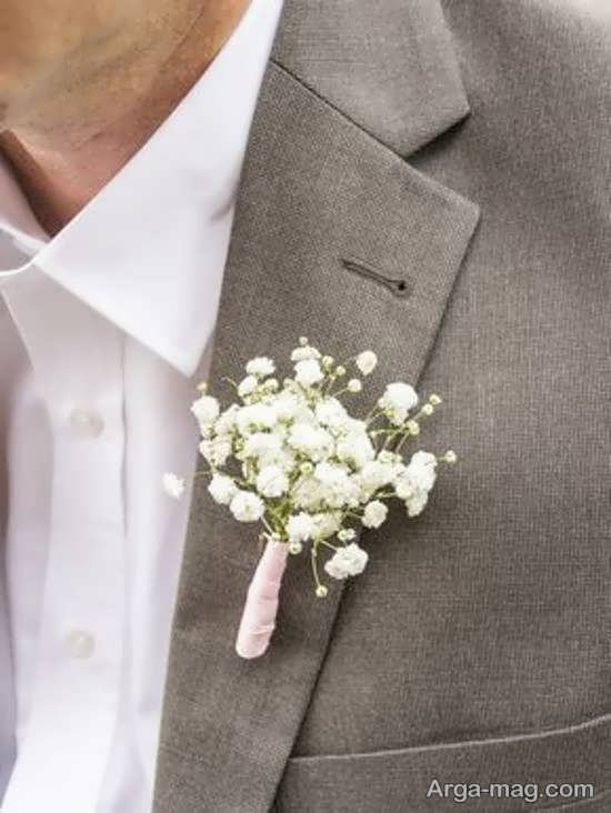 الگوهایی دوست داشتنی از گل سینه داماد