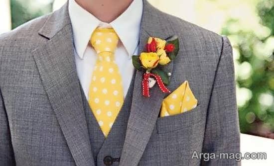 انواع الگوهای دوست داشتنی گل سینه داماد