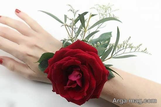 مدل های عاشقانه و زیبای گل سینه داماد