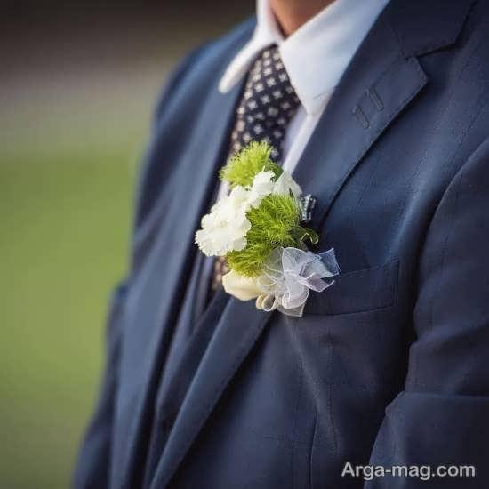 الگوهایی زیبا از گل سینه داماد