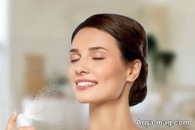 اسپری فیکس کننده آرایش خانگی با روش های مختلف
