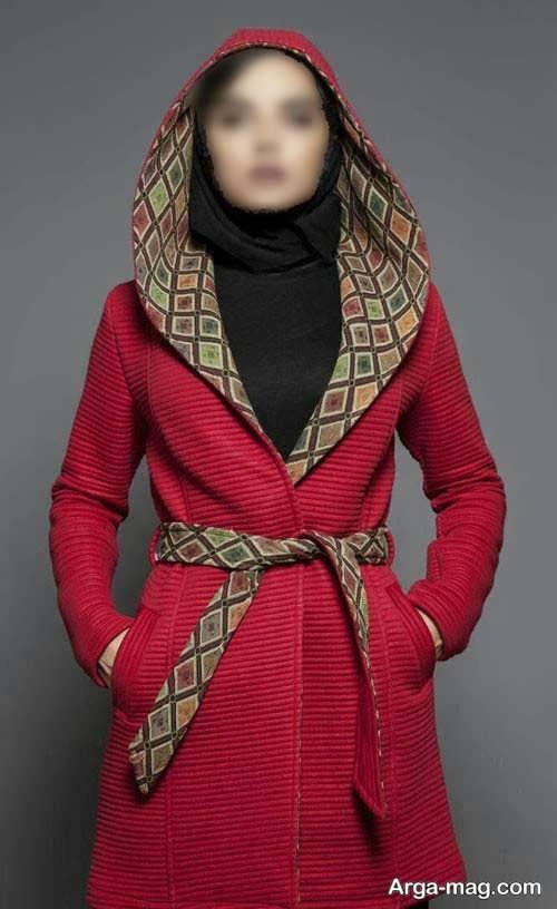 مدل مانتو کلاه دار اسپرت و شیک برای دختران جوان