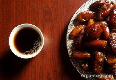 طریقه تهیه قهوه هسته خرما به صورت مرحله ای