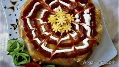 آشنایی با شیوه ی تهیه کیک لازانیا