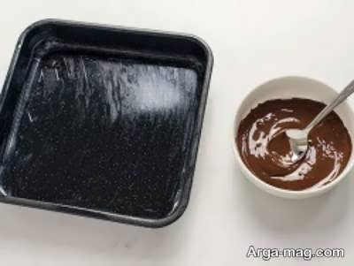 آموزش طرز پخت شکلات نعنایی