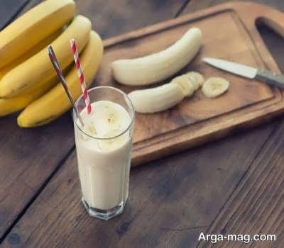 طرز تهیه شیر موز
