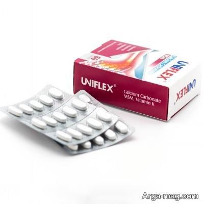 موارد استفاده از داروی یونی فلکس