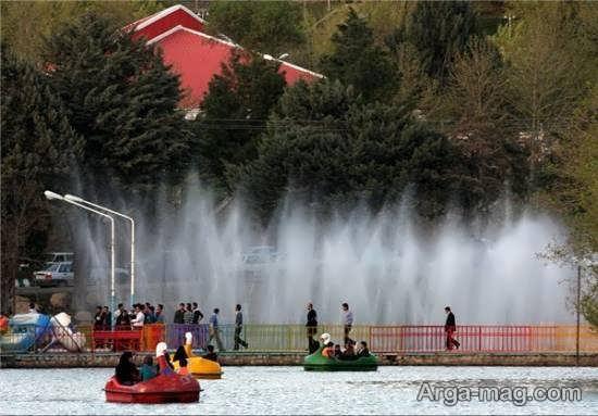بازدید از دریاچه کیو شهر خرم آباد