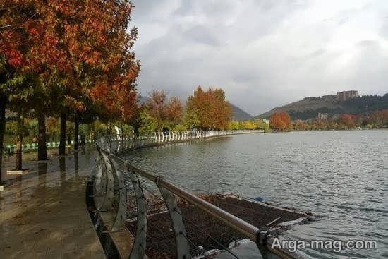 بازدید از دریاچه کیو