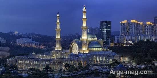 آشنایی و بازدید از مسجد فدرال مالزی