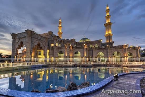 مسجد فدرال در شهر کوالالامپور مالزی