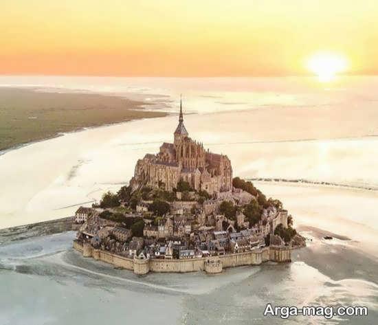 جزیره مونت سنت میشل فرانسه