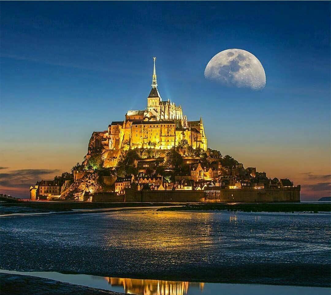 آشنایی با جزیره مونت سنت میشل فرانسه