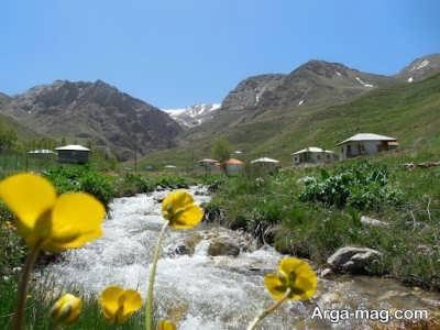 روستای زیبای نشل
