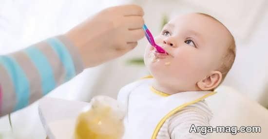 مواد غذایی سالم و مقوی برای نوزاد