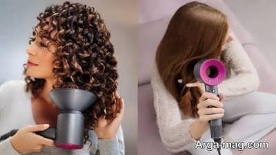 نحوه خشک کردن موها