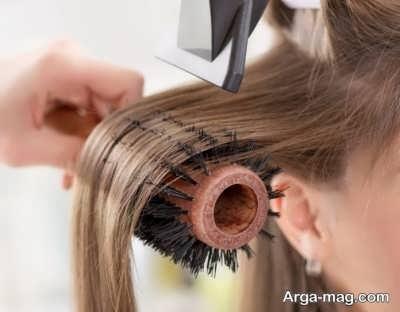 اصول خشک کردن مو صاف و فر و بافت