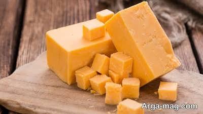 معرفی خواص پنیر چدار