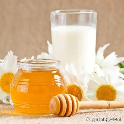 مزیت های شیر و عسل برای رطوبت پوست