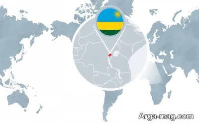 موقعیت جغرافیایی روآندا