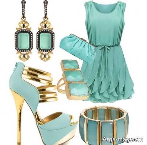 مدل ست لباس با جواهرات