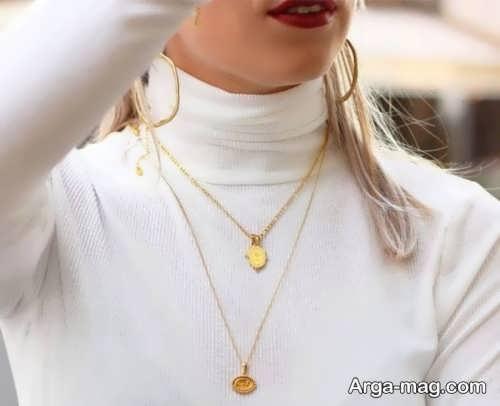 ست لباس با جواهرات