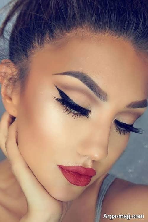 آرایش زنانه شاین و زیبا