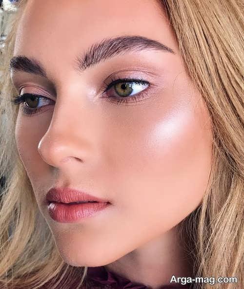 مدل آرایش زنانه شاین