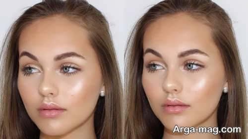 مدل آرایش شاین شیک