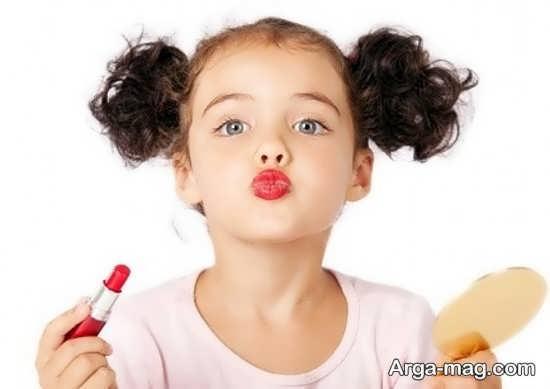 مضرات لوازم آرایشی برای بچه ها