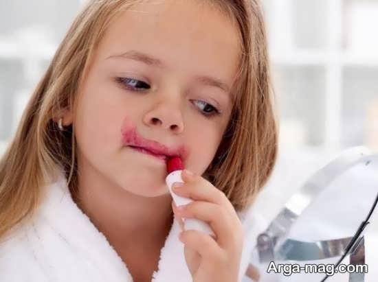 انواع عوارض آرایش برای کودکان