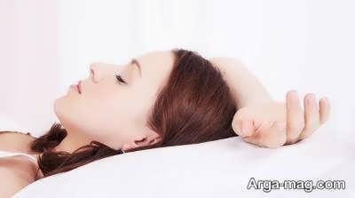 پوستی درخشان در خواب