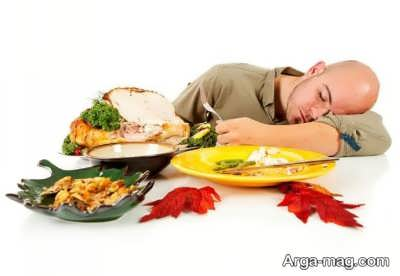خوردنی های مهم و خوشمزه خواب آور