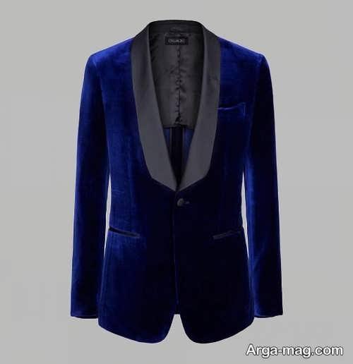 کت آبی تیره مردانه