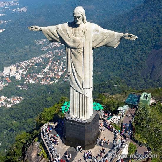 آشنایی با تندیس مسیح برزیل
