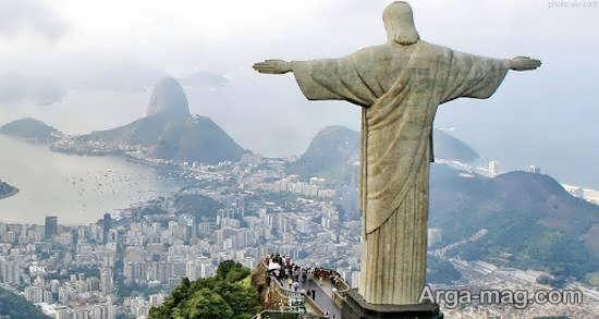 آشنایی با تندیس مسیح در برزیل